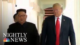 North Korea Still Building Ballistic Missiles, Say U.S. Officials   NBC Nightly News
