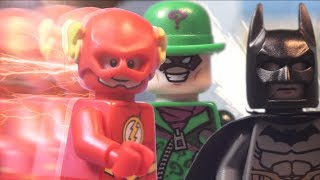 Lego Batman and Flash The Riddler Chase
