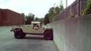 Humvee Climbing Vertical Wall 1
