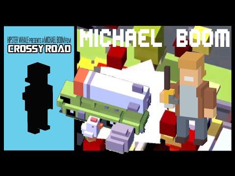 CROSSY ROAD MICHAEL BOOM UNLOCK | NEW Secret Character Micro Update | Rocket Car (Android, iOS)