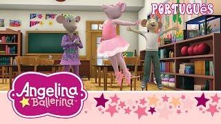 Angelina e Viki formam uma equipe- Angelina Ballerina Brasil