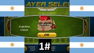 Head Soccer - How to Unlock Argentina 1#