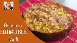 Annemin nefis elmalı kek tarifi! Mama´s leckerer Apfelkuchen, CANAN´S REZEPTE