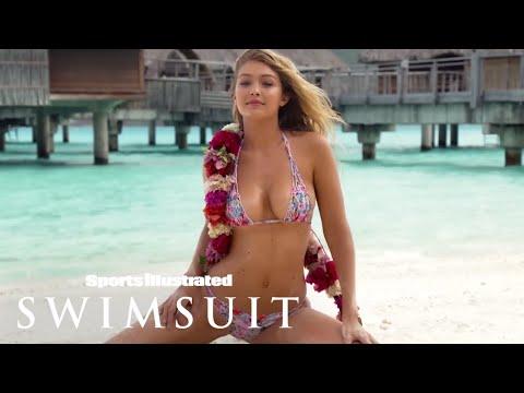 Gigi Hadid, Rose Bertram & Bo Krsmanovic In Tahiti | Tanlines | Sports Illustrated Swimsuit