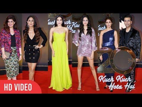 Xxx Mp4 20 Years Of Kuch Kuch Hota Hai REDCARPET Kareena Kapoor Janhvi Ananya Twinkle Khanna SRK 3gp Sex