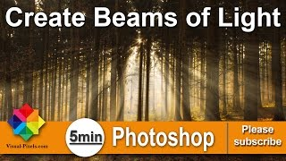 Create Beams of Light in Photoshop