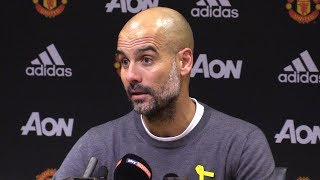 Manchester United 1-2 Manchester City - Pep Guardiola Full Post Match Press Conference - #MUNMCI