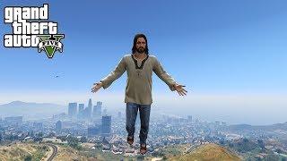 THE JESUS MOD!! (GTA 5 MODS)