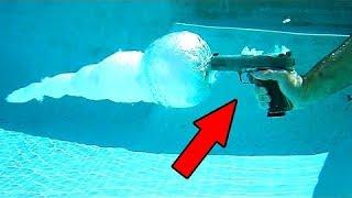 هل يمكننا فعلاً إطلاق النار تحت الماء , أم أنها مجرد خدعة ؟!!