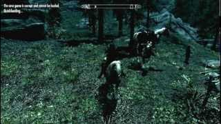 Random Skyrim Encounter- Horse humping gone wrong. Doesn't Matter; Had Sex