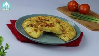 Spanish Omelette Bangla Recipe By Cooking Channel BD.