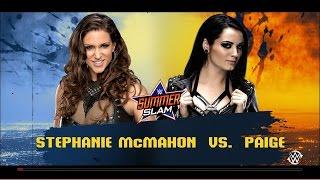 WWE 2K16: Stephanie McMahon vs Paige