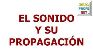 137. EL SONIDO Y SU PROPAGACIÓN