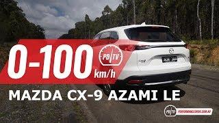2019 Mazda CX-9 Azami LE 0-100km/h & engine sound