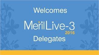 MERIL LIVE 2016 DAY 1