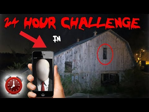 24 HOUR OVERNIGHT CHALLENGE IN A HAUNTED FARM HOUSE THE SCARIEST NIGHT OF MY LIFE ⏰😱 MOE SARGI