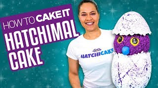 How To Make a HATCHIMAL CAKE   With Vanilla and Chocolate Cake  Yolanda Gampp   How To Cake It
