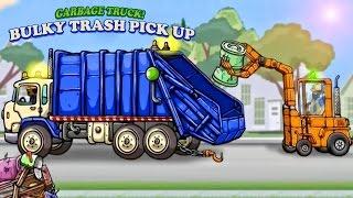 Cars & Trucks for Kids - Garbage Truck : Videos for Children   Garbage Truck: Bulky Trash Pick Up