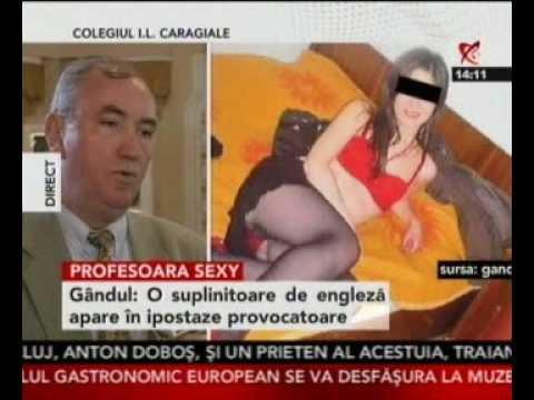 Profesoară de la IL Caragiale în ipostaze sexy pe internet