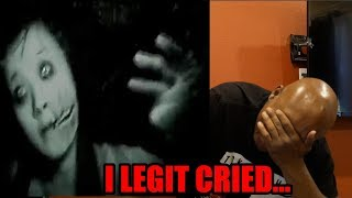 I GOT JUMPSCARED SO BAD I CRIED....... - TRY NOT TO GET SCARED CHALLENGE