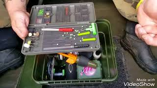 """""""MUST SEE"""" Big Edge TACKLE BOX SET UP & TIPS FOR BEGINNERS. RIDGE MONKEY BUCKET SYSTEM"""