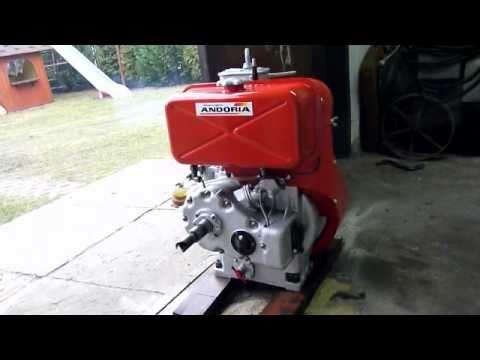 Silnik ANDORIA S 301D S 7 praca po remoncie