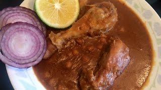 MURGH CHOLE  Bajias Cooking