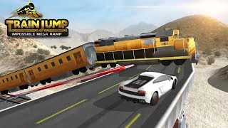 TRAIN JUMP IMPOSSIBLE MEGA RAMP GAME #Download Games #Trains Games For Kids #Kids Games To Play Free