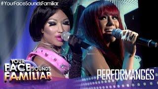 """Your Face Sounds Familiar: Myrtle Sarrosa as Rihanna and Nicki Minaj - """"Fly"""""""