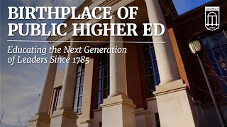The Birthplace of Public Higher Education in America