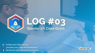Removals - Code Quest Log #03 - Blender 2.8