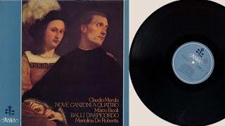 Mariolina De Robertis (harpsichord) Claudio Merulo and Marco Facoli