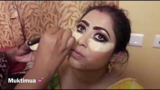 Glamorous bengali Bride || Make up tutorial