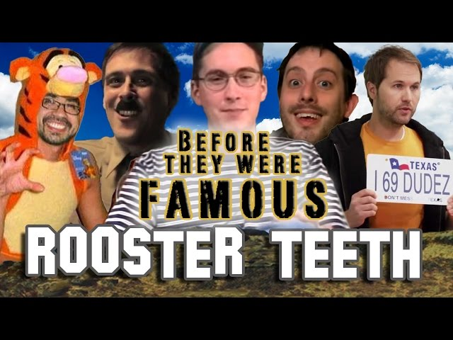 ROOSTER TEETH - Before They Were Famous