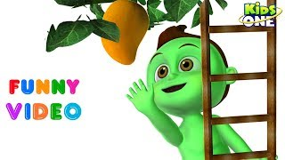 BABY HULK Trying to Get MANGO | SPIDER BABY Got It | Superheroes in Real Life Funny Prank for Kids