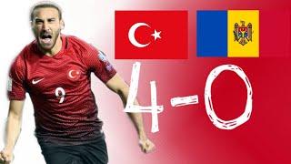 TÜRKİYE 4-0 MOLDOVA!! GENİŞ MAÇ ÖZETİ FULL HD (25.03.2019)