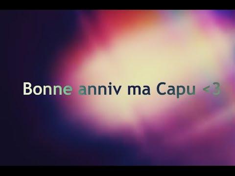 Joyeux anniversaire ma Capucine Shani lion king