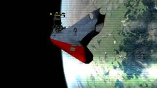 Starblazers / Yamato in Orbiter Space Flight Simulator