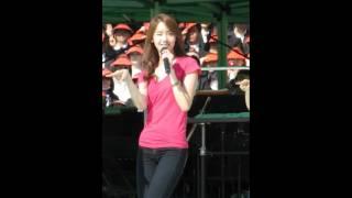 [Fancam] 11.05.14 Yoona SNSD - Gee rehearsal