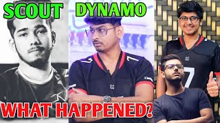 Dynamo Gaming Vs Scout Full Drama Explained   PUBG Mobile Collab - MortaL, Carry   Technical Drama?