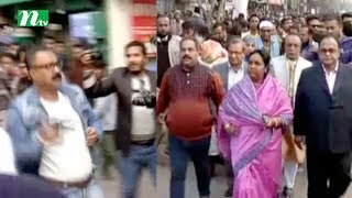 Killing attempt on Selina Hayat Ivy in Narayanganj