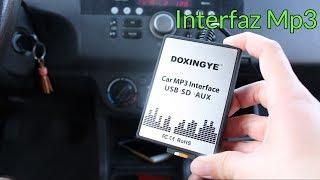 Interfaz Mp3 USB/SD AUX DOXINGYE - Suzuki Swift