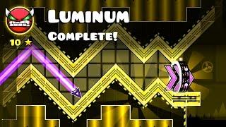 Geometry Dash - Zobros - Luminum (Very Hard Demon)