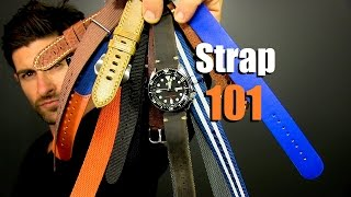 Watch Strap Tutorial | How To Accessorize With Watch Straps | Watch Band 101