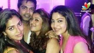 Simbu and Nayanthara partying hard together   Trisha Birthday Party   Hot Tamil Cinema News