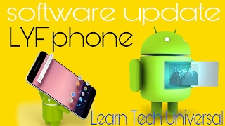 Lyf phone software update related..tips