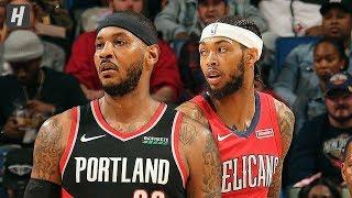 Portland Trail Blazers vs New Orleans Pelicans - Full Highlights | November 19 | 2019-20 NBA Season