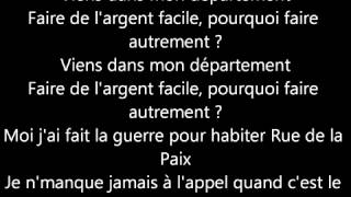 BOOBA - Jour De Paye - Lyrics