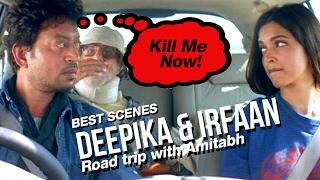 Best Scenes from the Road Journey in Piku | Amitabh, Irfaan Khan and Deepika Padukone