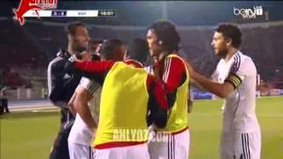 هدف تقدم منتخب مصر على تشيلي خالد قمر